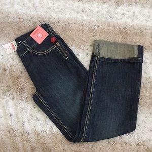 Gymboree girl jeans 8 Slim.